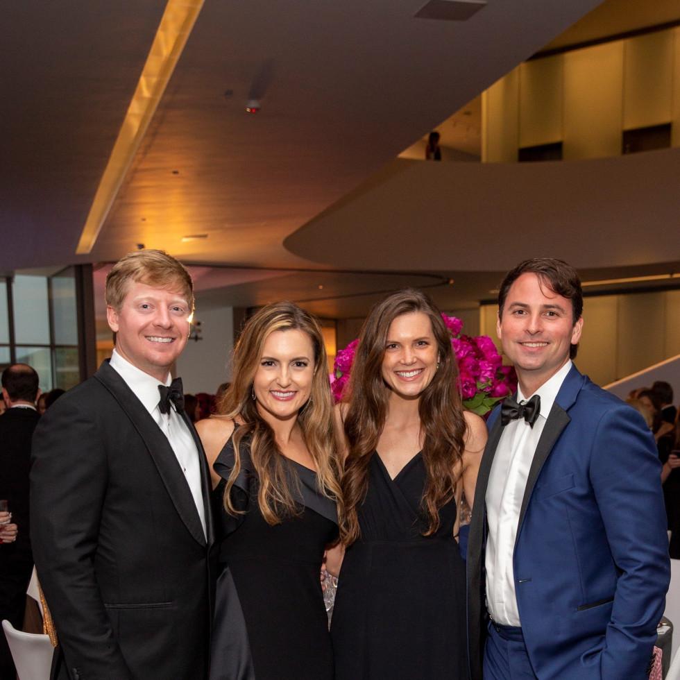 MFAH Grand Gala Ball 2021 Brian and Laura Carlton; Kristin Kulpinksi; Will Pritchard; Photo by Jenny Antill.jpg