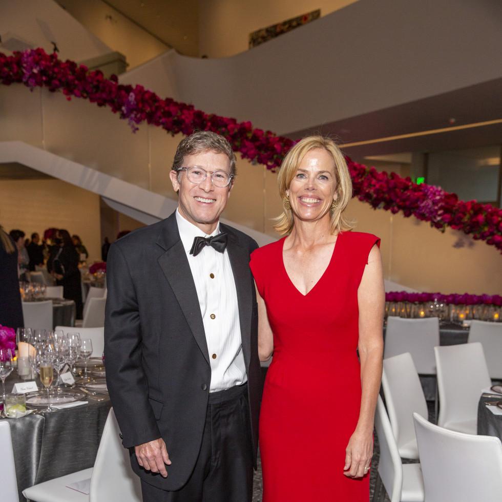 MFAH Grand Gala Ball 2021 Edward and Julie Griffin