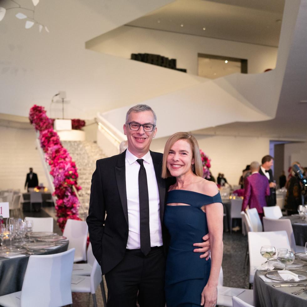 MFAH Grand Gala Ball 2021 Jeff Martin; Allison Weaver