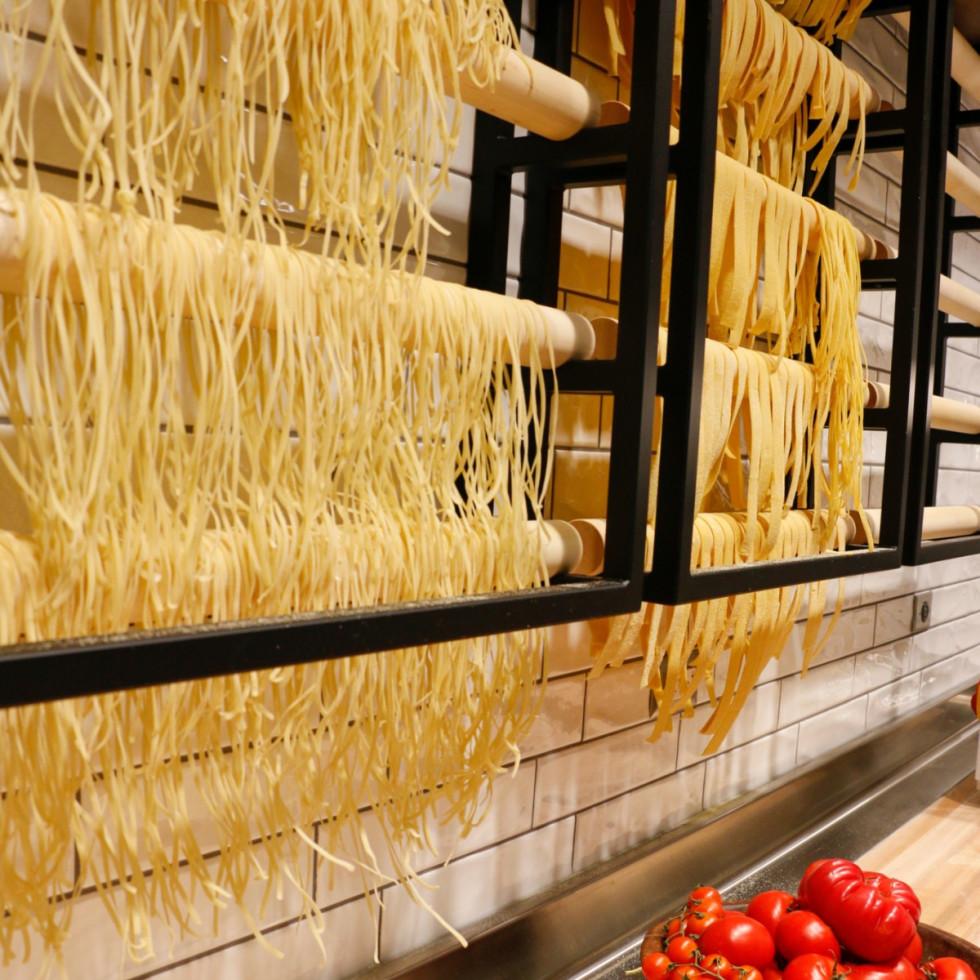 Pasta wall