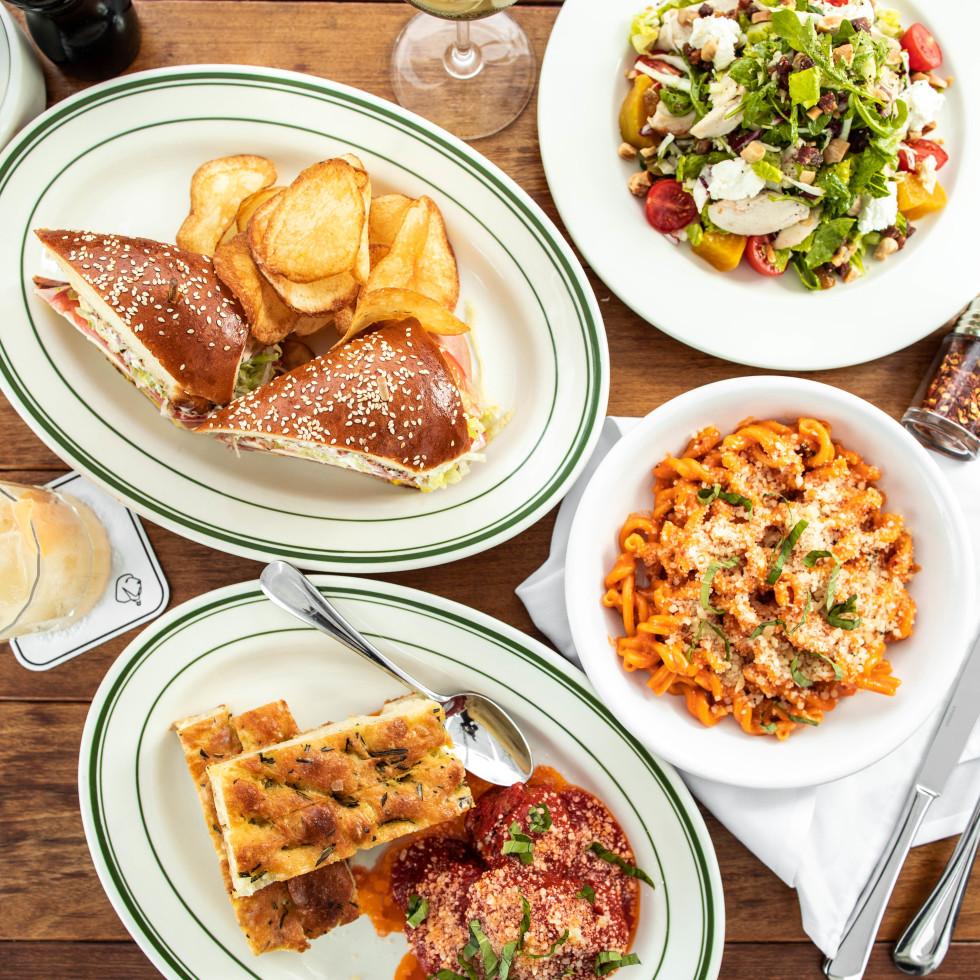 Il Bracco menu spread