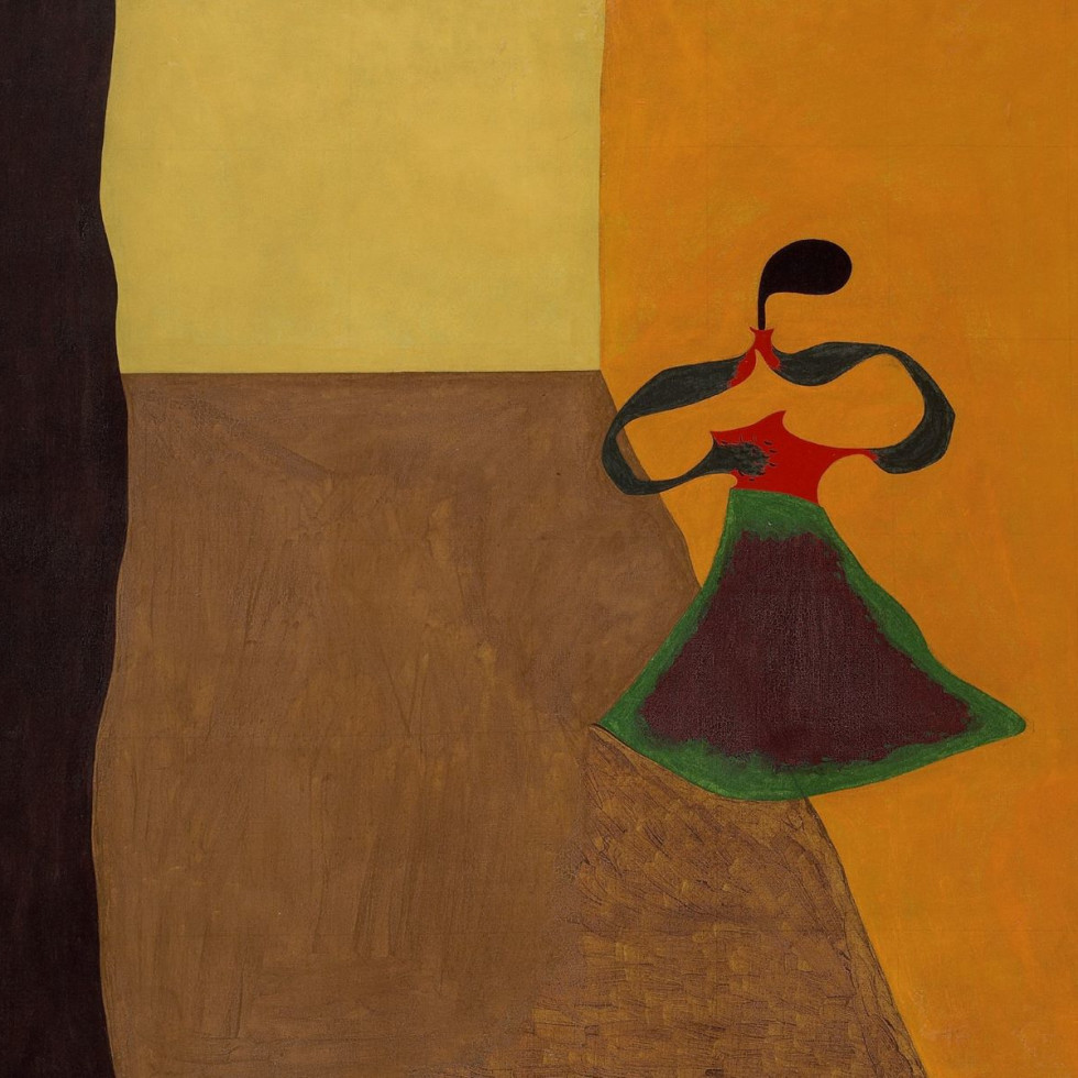 "Joan Miró, Queen Louise of Prussia, 1929, ""Canvas & Silk"""