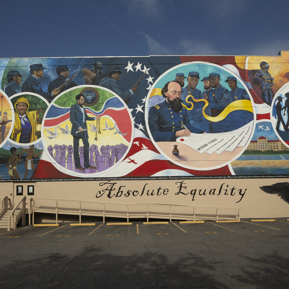 Absolute Equality mural in Galveston