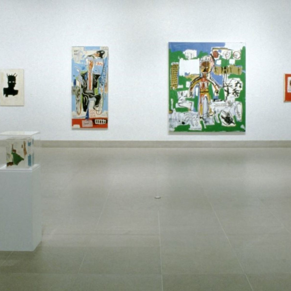 Dallas Collects Jean-Michel Basquiat, installation, January 31-March 28, 1993