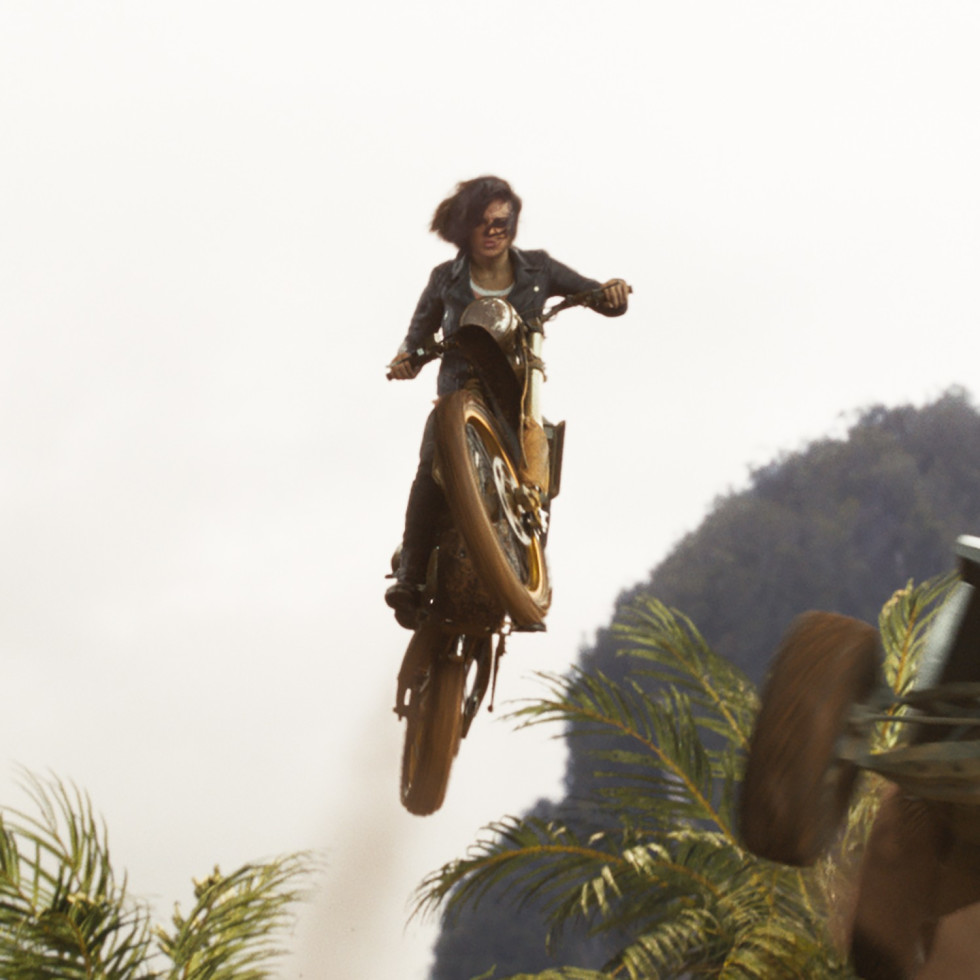 Michelle Rodriguez in F9: The Fast Saga