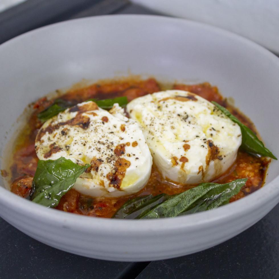 One Fifth Red Sauce Italian roasted tomato burrata
