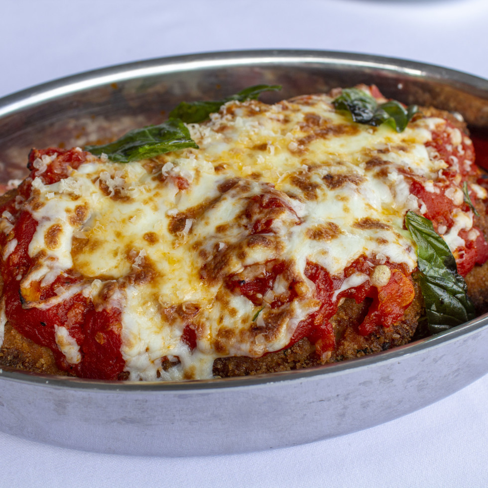 One Fifth Red Sauce Italian chicken parmesan