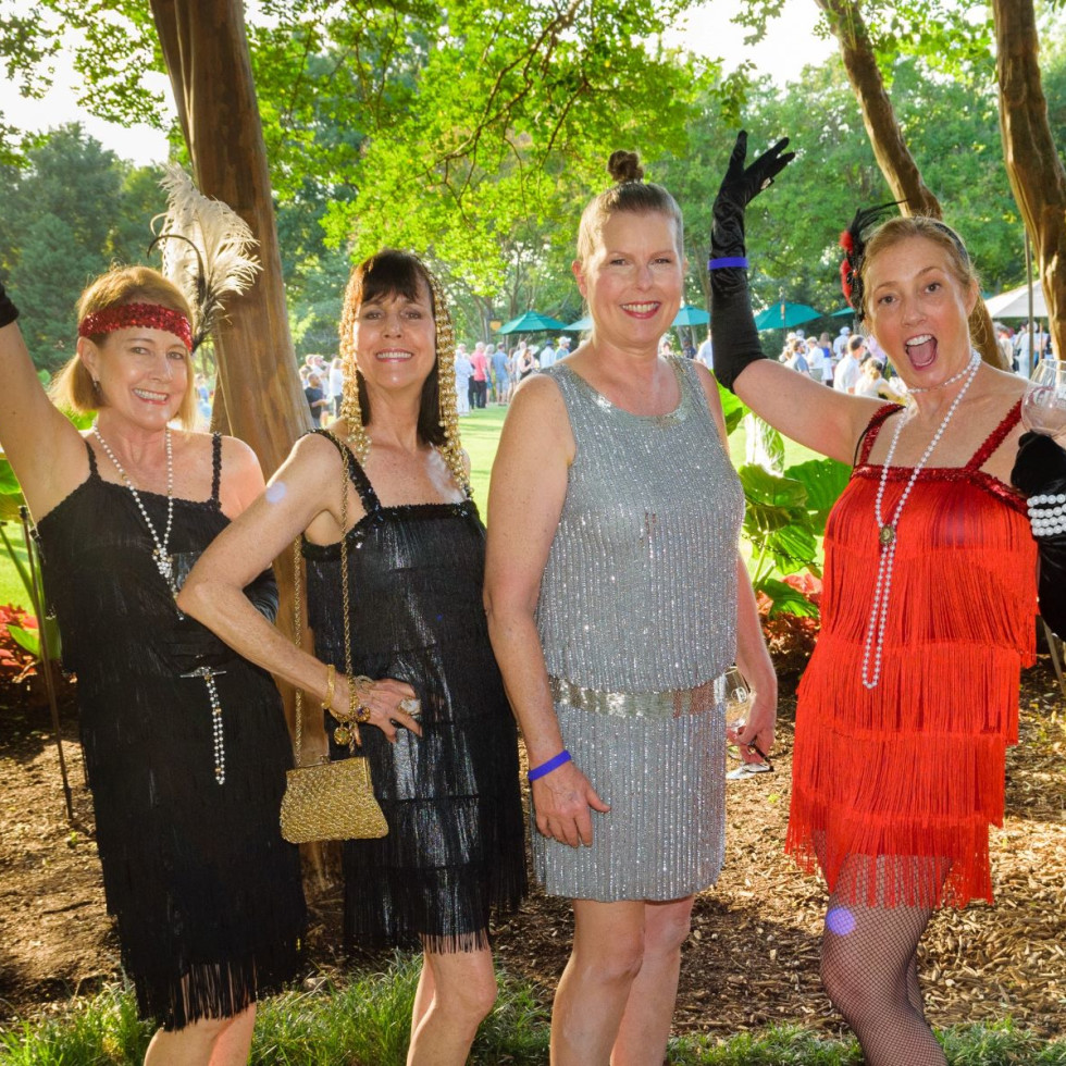Connie Ball, Carrie Dubberley, Linda Williamson, Terrie Riggs