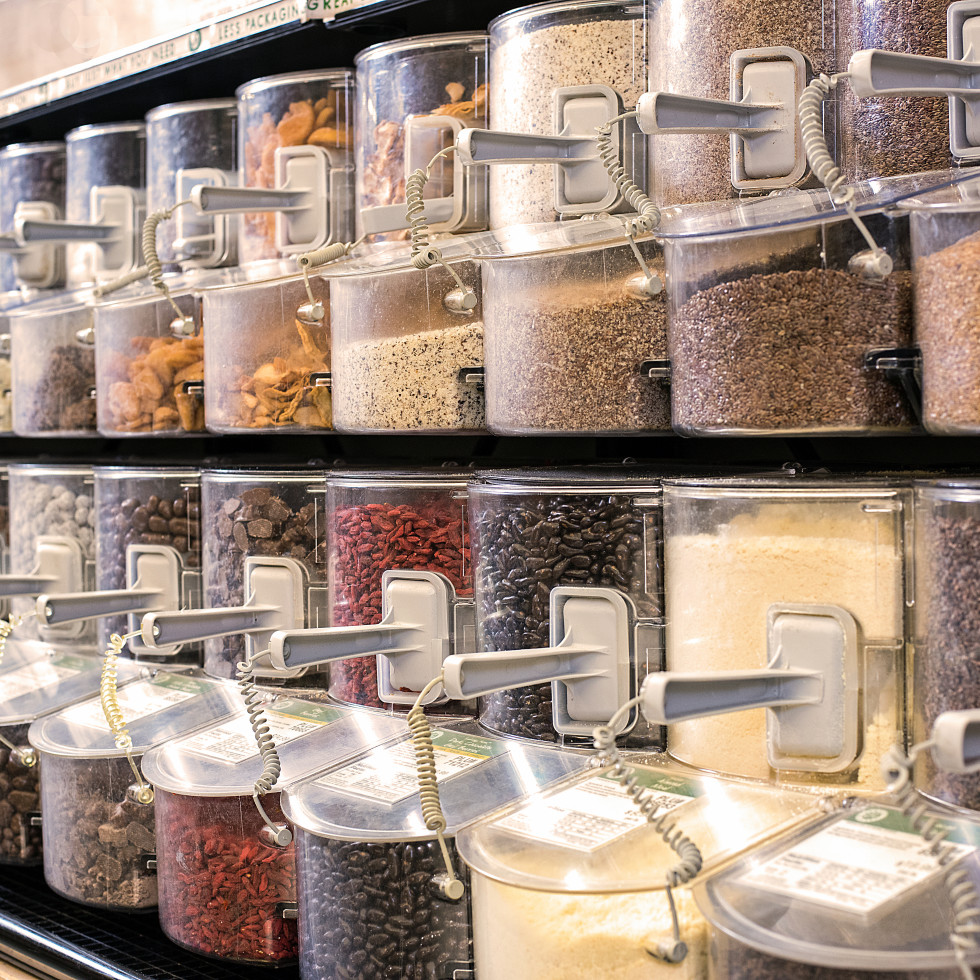 Bulk spices and grains