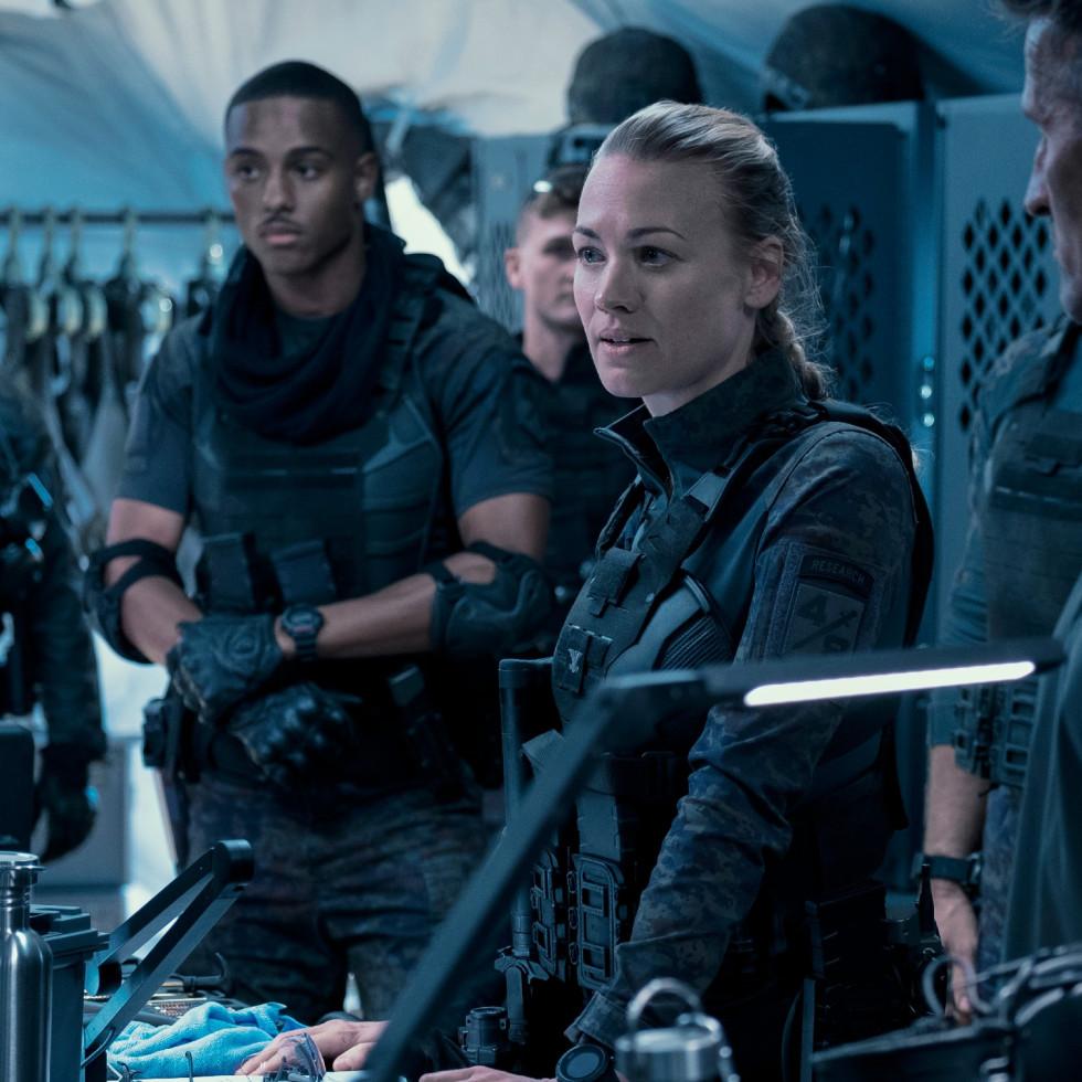 Chris Pratt in The Tomorrow War