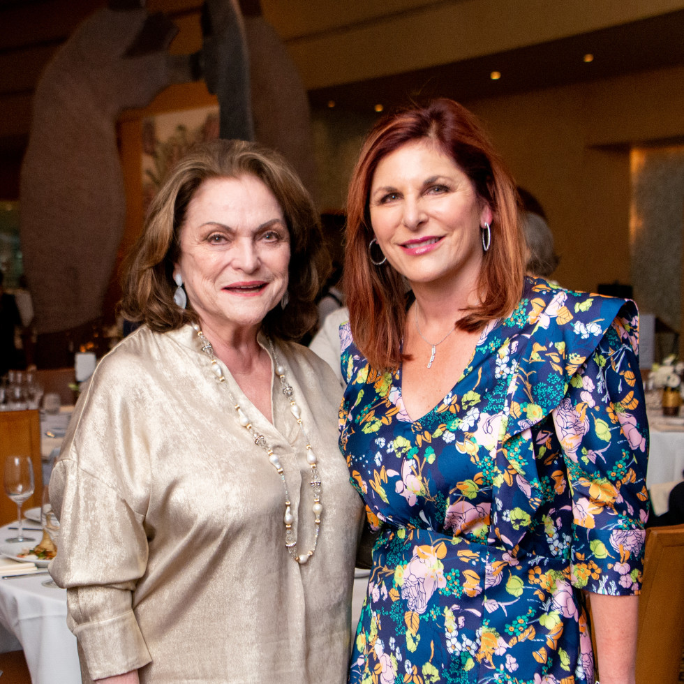 Tony's Wine Dinner The Women's Fund Beth Wolff, Cynthia Wolff