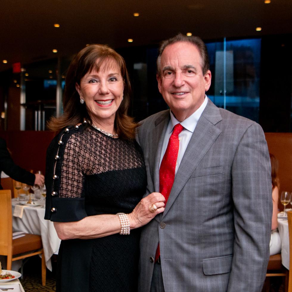 Tony's Wine Dinner The Women's Fund Elizabeth and Alan Stein