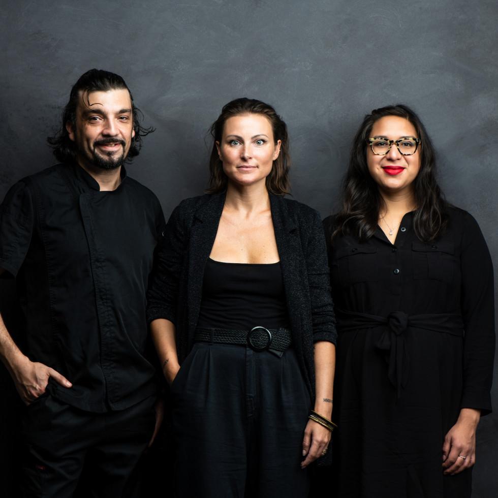 Concura Italian Bites Angelo Cuppone, Jessica Biondi, Marcella Arreaga