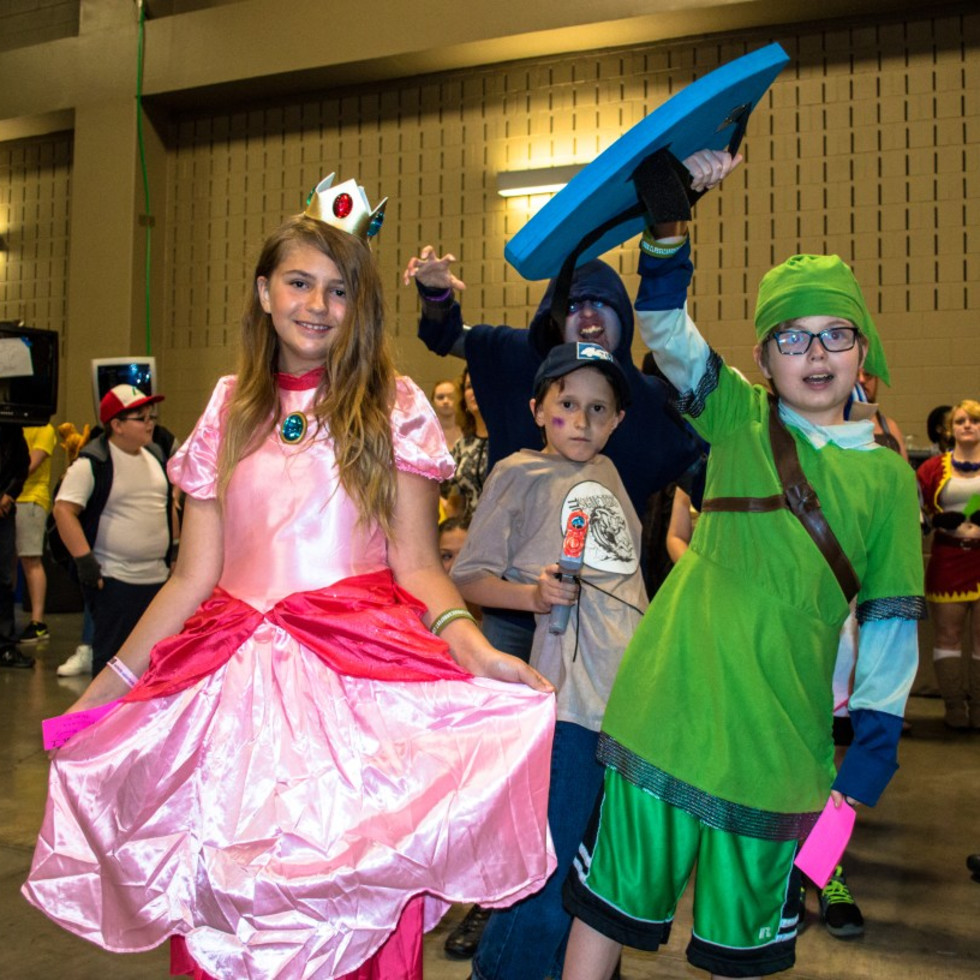 Geek Gals at Classic Game Fest