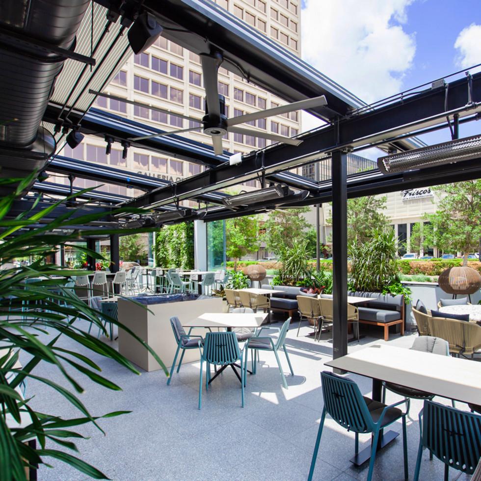 Joey restaurant patio