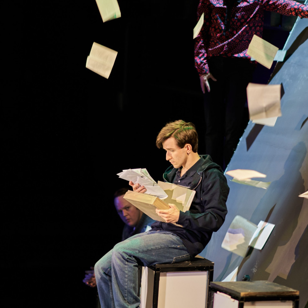 WaterTower Theatre presents The Curious Incident of the Dog in the Night-time