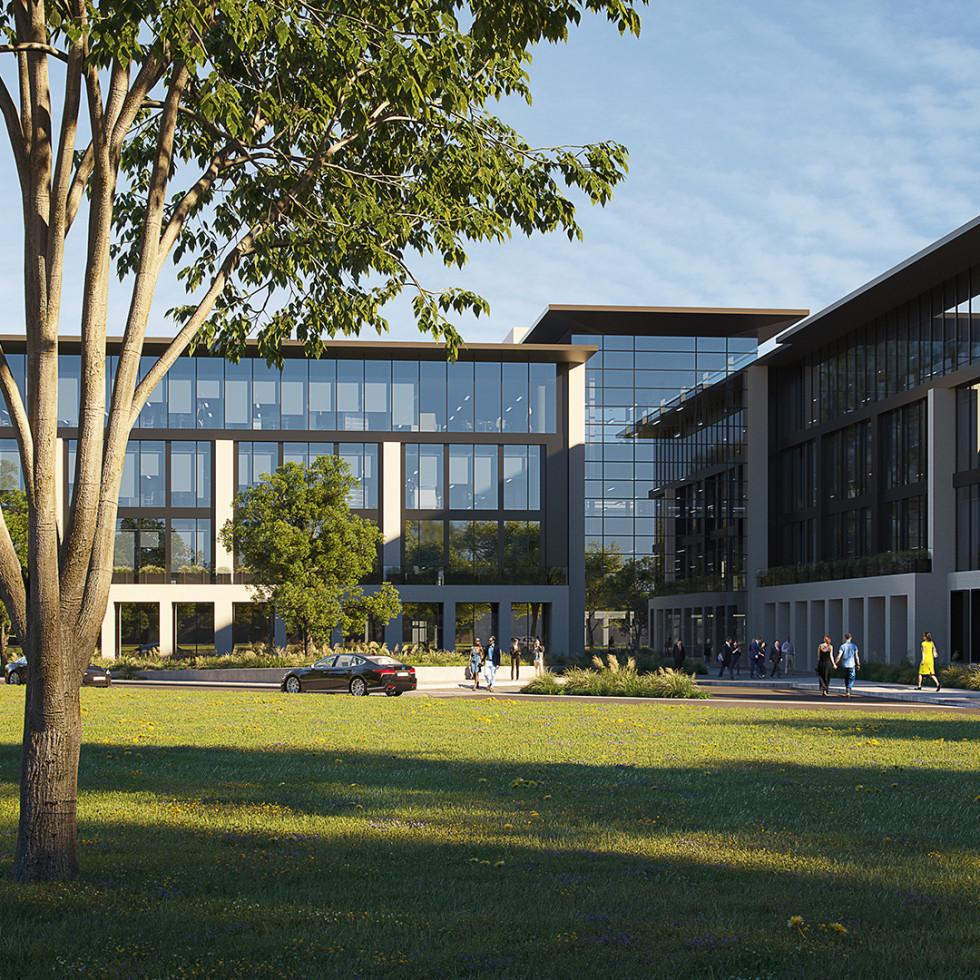 Duval office park rendering