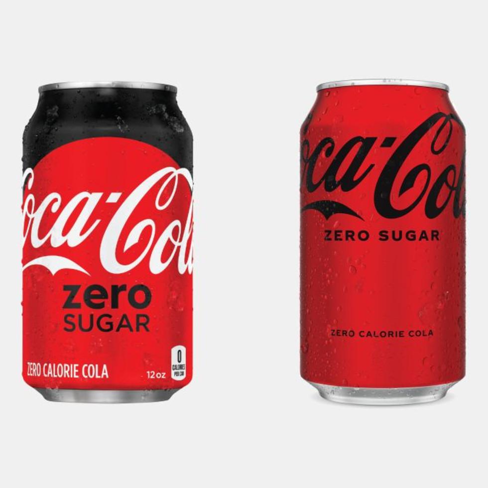 Coke Zero new can