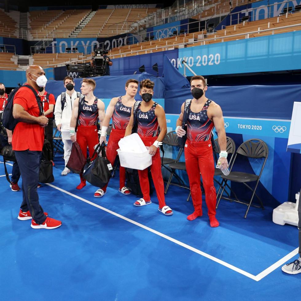 Olympics Gymnastics 2021 men