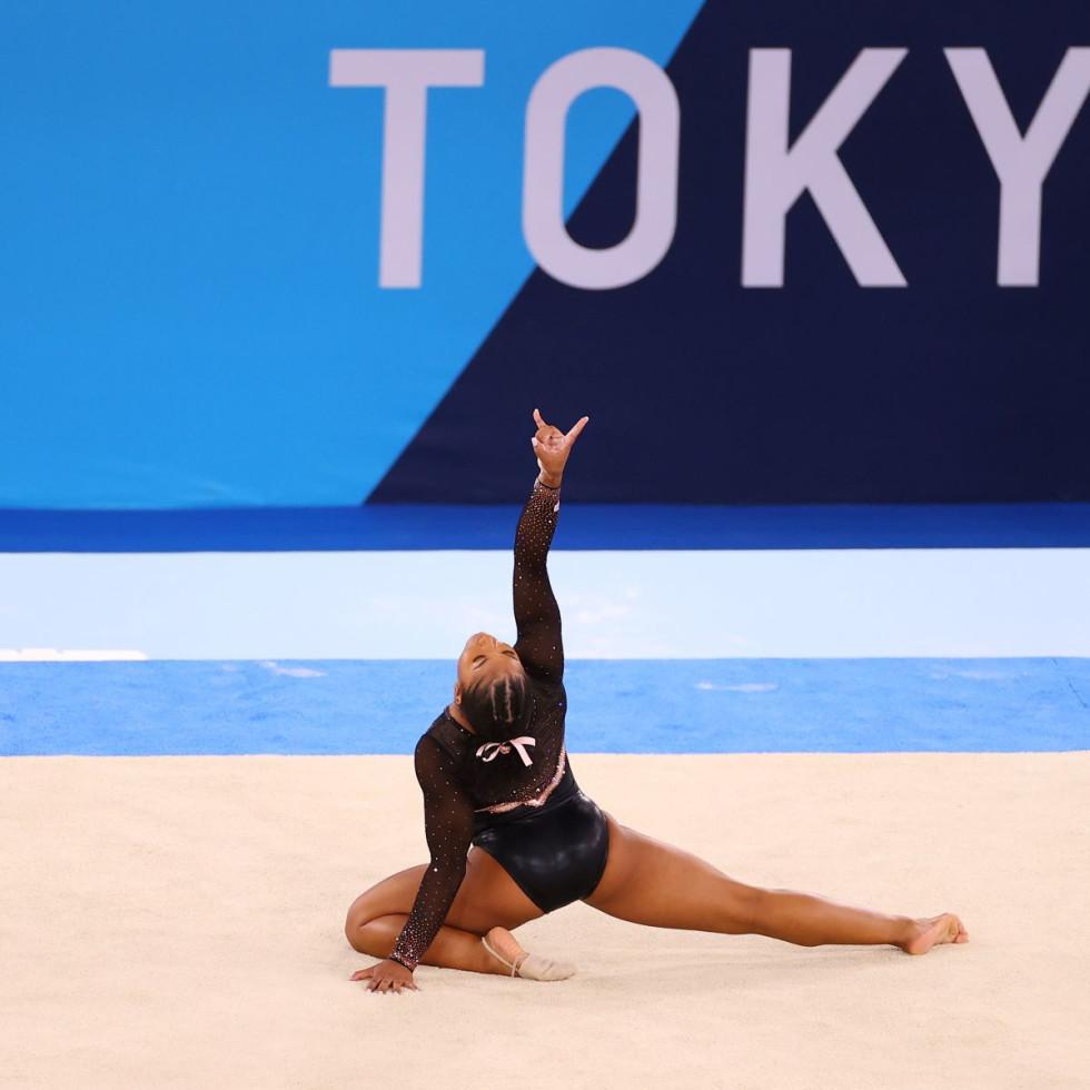 Jordan Chiles, Tokyo Olympics Gymnastics