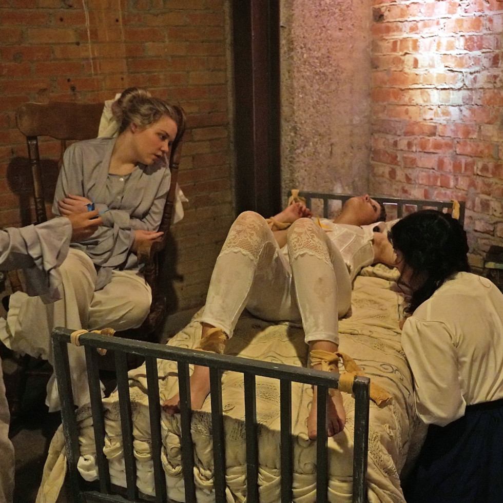 Cry Havoc Theater Company presents Committed: Mad Women of the Asylum