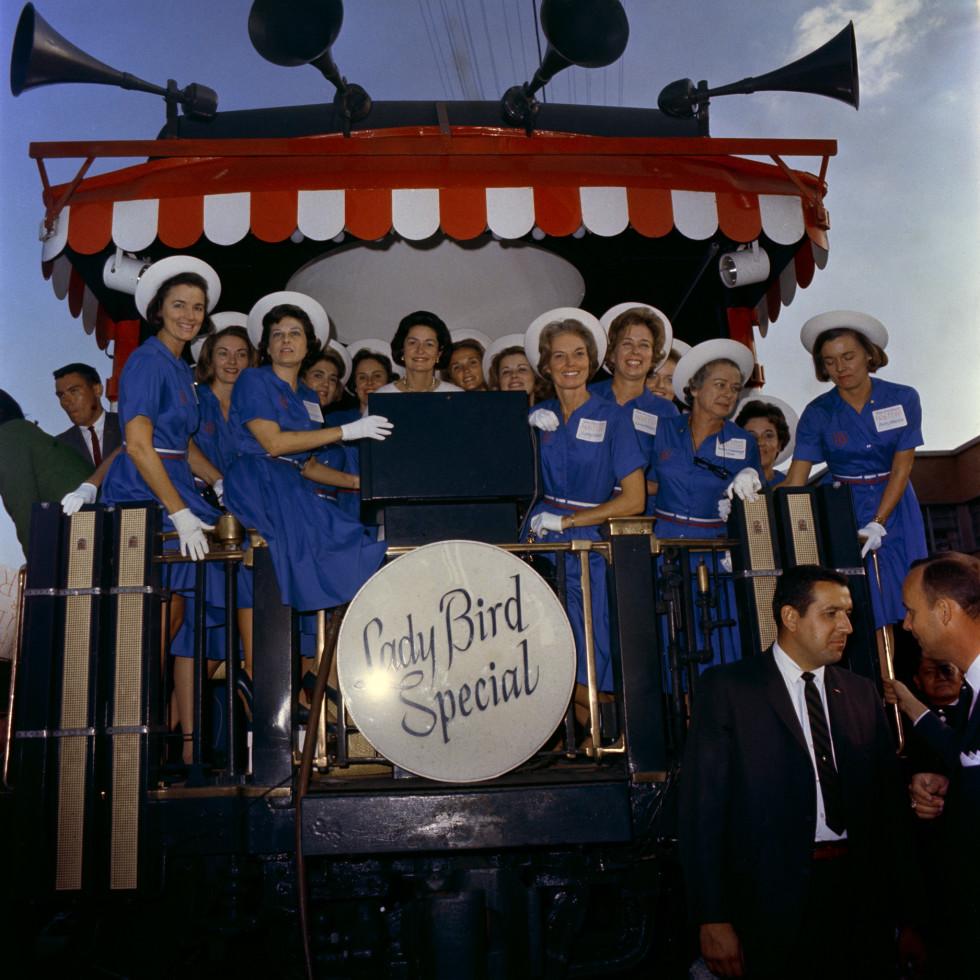 Lady Bird Johnson exhibit