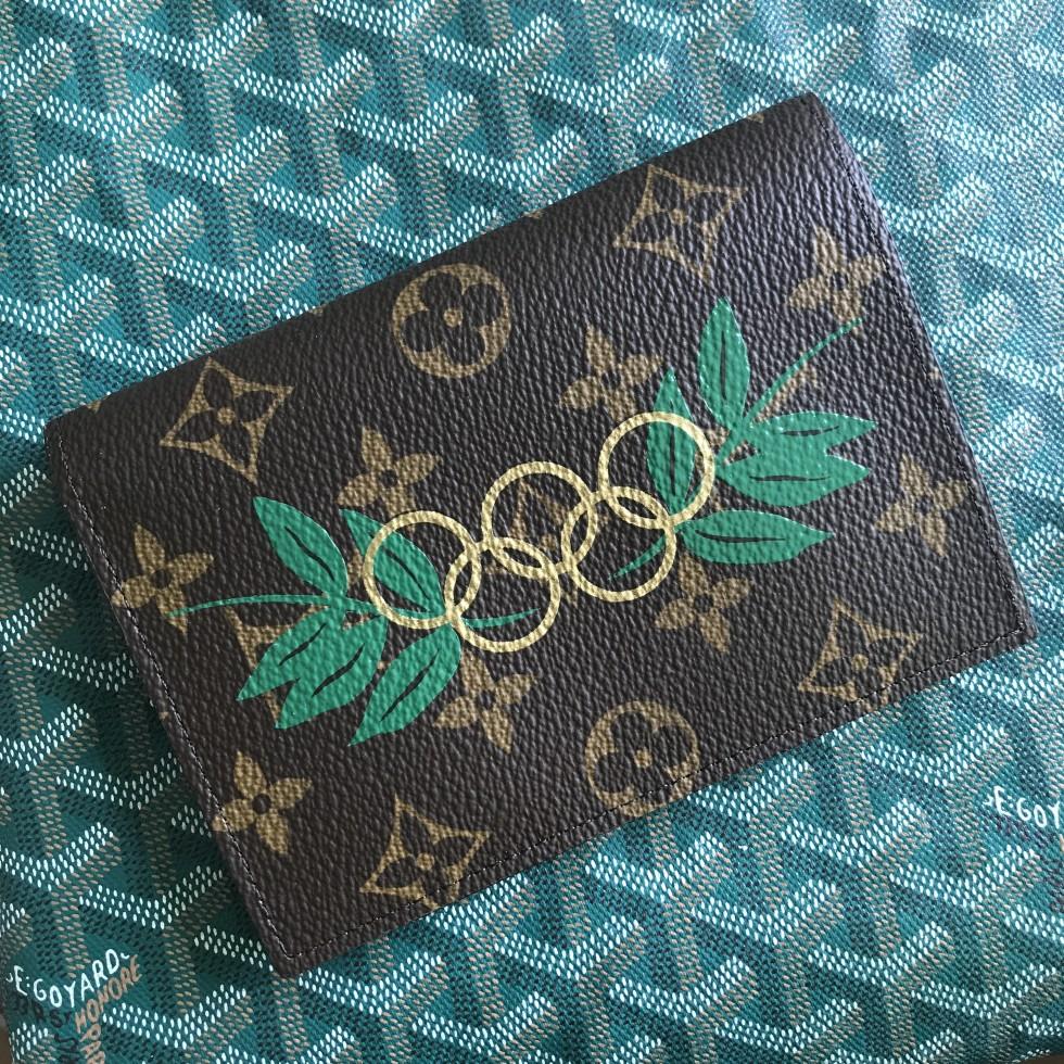 DTLAcustom Tara Martin Louis Vuitton Olympics