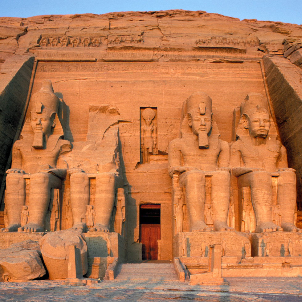 Ramses the Great and the Gold of the Pharaohs Houston Museum of Natural Science Abu Simbel Temple