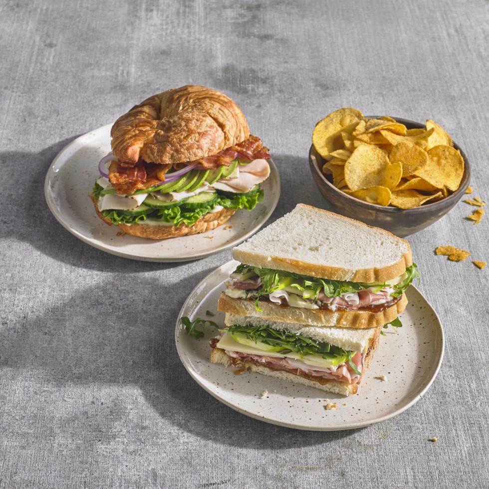 Central Market sandwiches