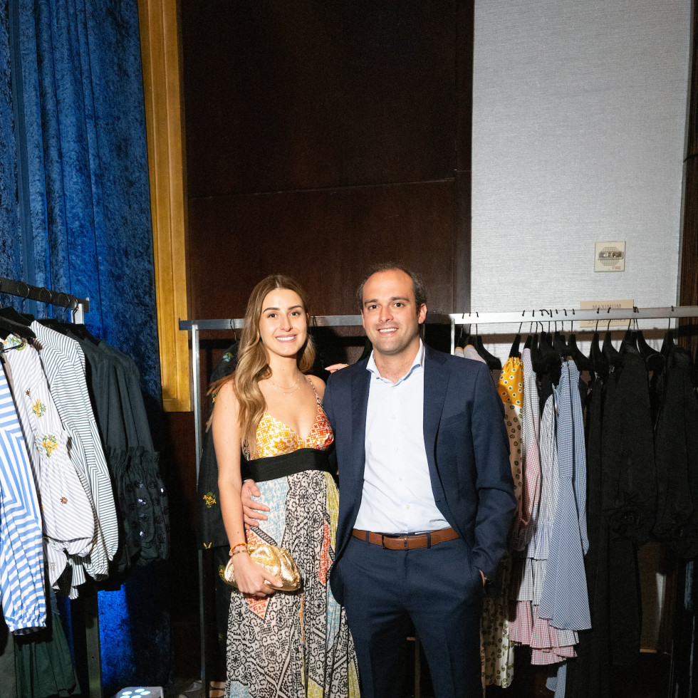 LWI Houston 2021 fashion show luncheon Mariel Salazar and Mauricio Espinosa Tcherassi