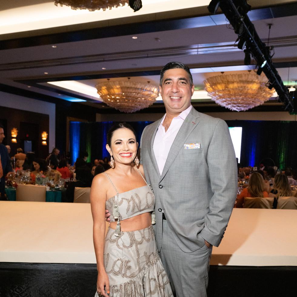 LWI Houston 2021 fashion show luncheon Michelle George Farrah