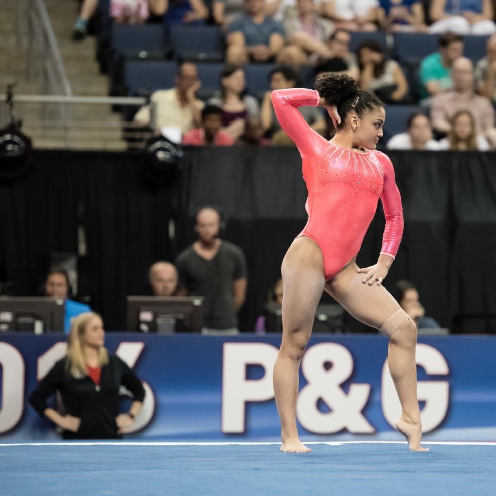 Gymnast Laurie Hernandez