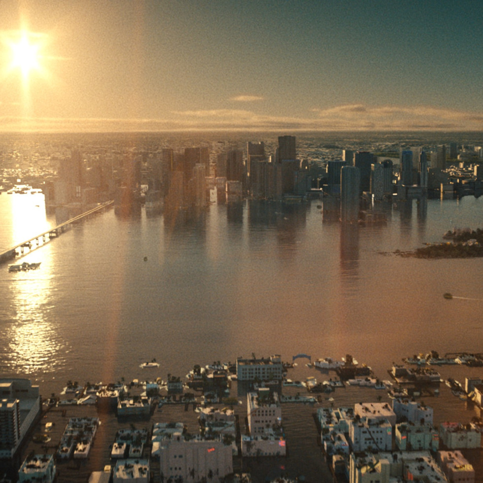 A flooded Miami in Reminiscence