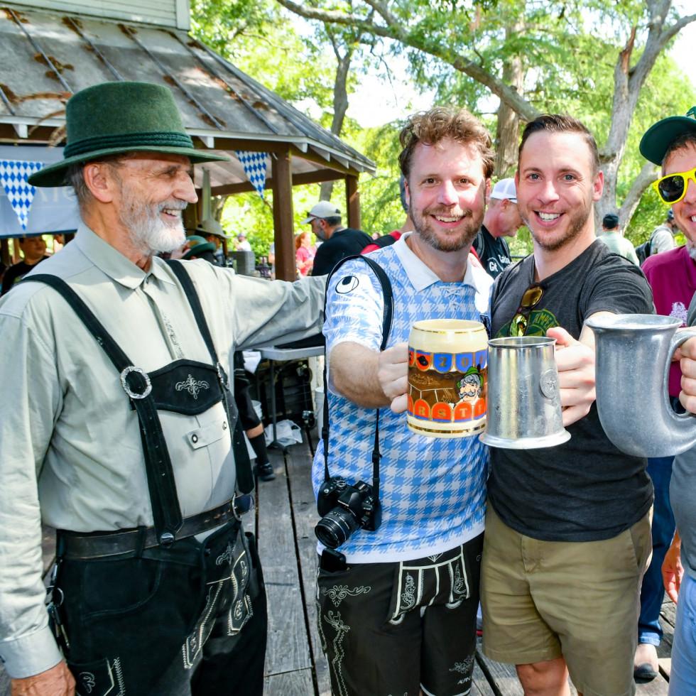 Brackenridge Park Conservancy presents Parktoberfest