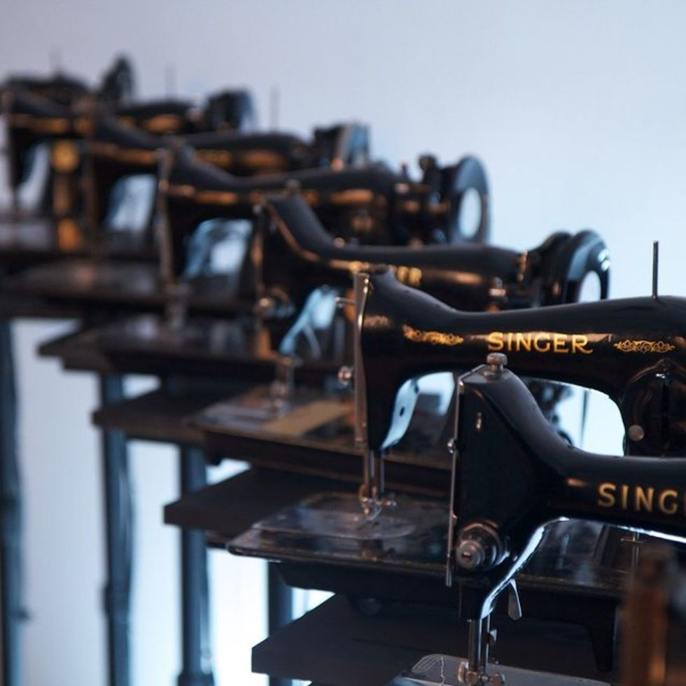 Sewing Machine Orchestra by Martin Messier