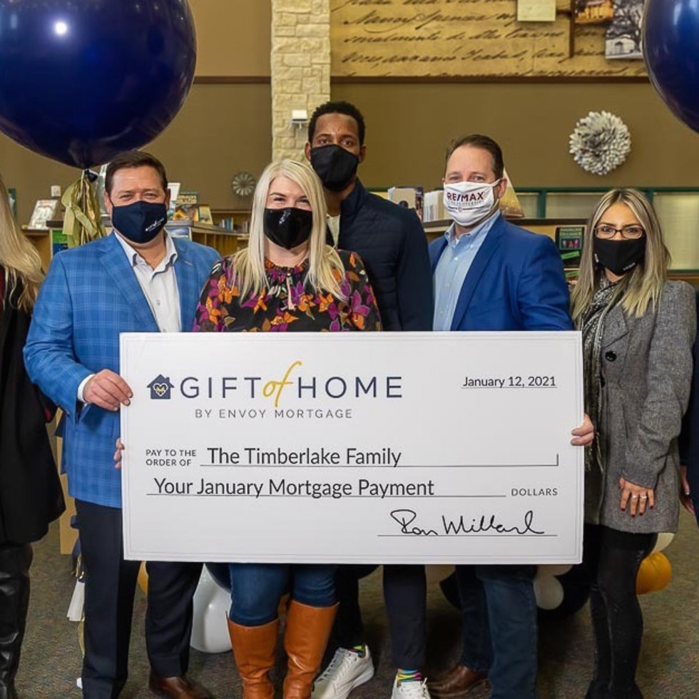 Envoy Mortgage Gift of Home