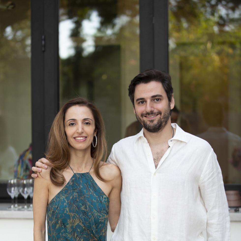 Homemade Hope Home is where the heart is gala kickoff 2021 Lila Sharifian and Omid Sharifian
