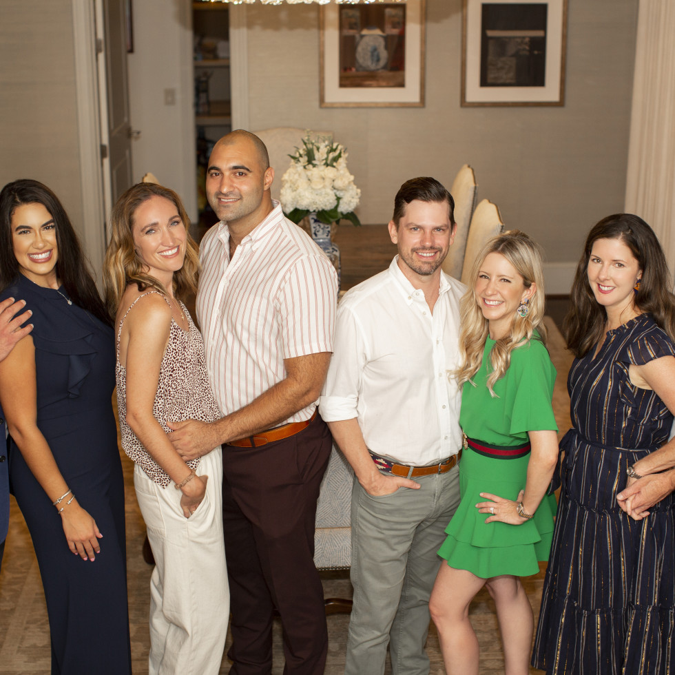 Homemade Hope Home is where the heart is gala kickoff 2021 Trent Kelley; Tiffany LaRose; Sina Fahrtash, Kelly Fahrtash; Margot Delaronde Marcell and Josh Marcell, Michelle and Mike Mann