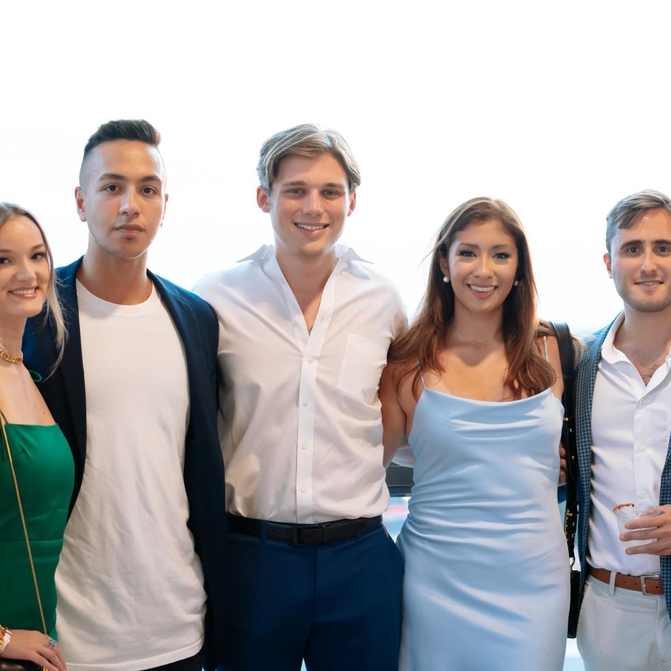 Ellison Heights Diamonds Direct shopping party Taylor Rechter, Jason Esmaili,Jennifer Medina, Spencer Huck, Stefan Stankovic