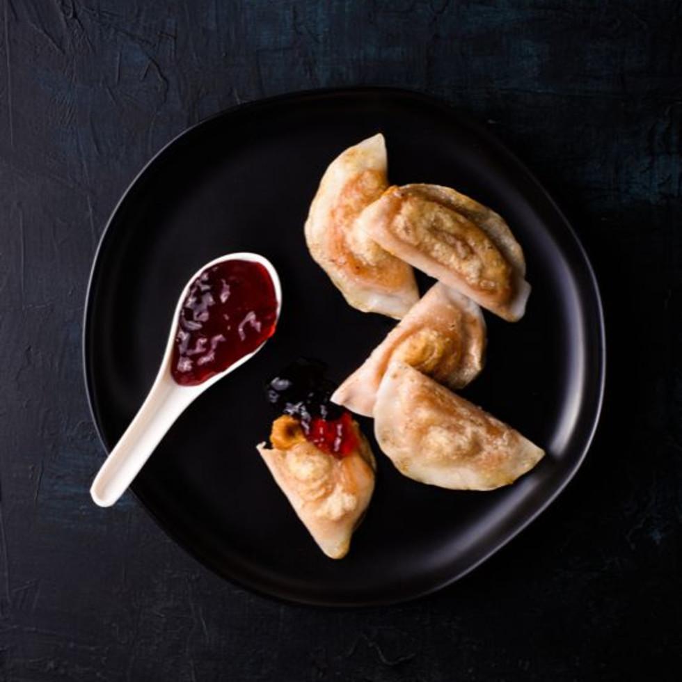 PB&J dumplings