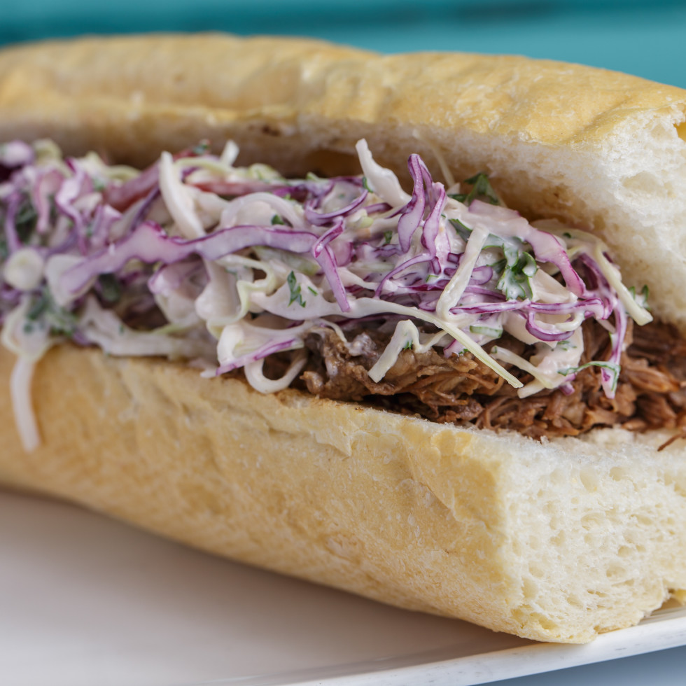 Common Bond On the Go Spring Branch braised beef po boy
