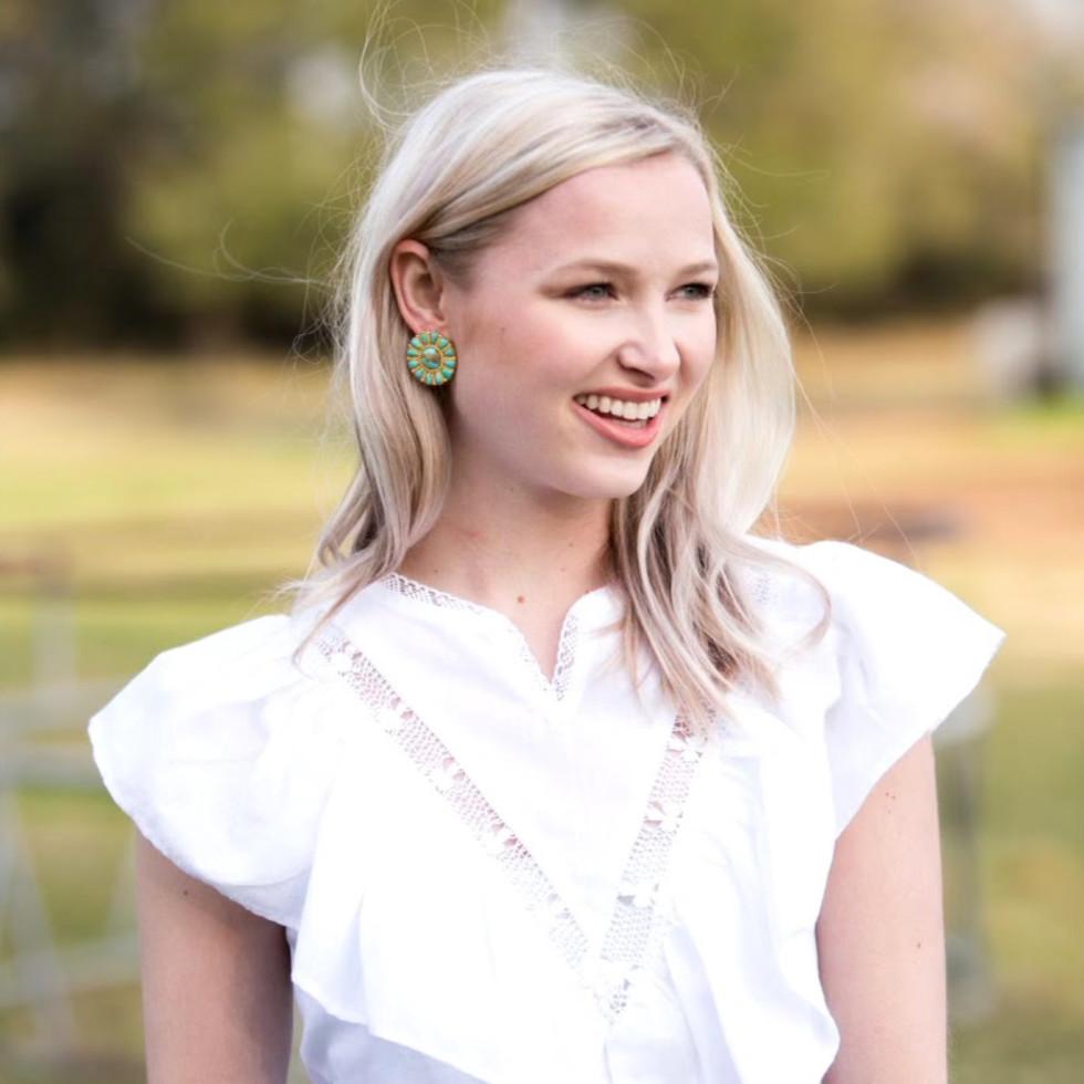 Christina Greene jewelry earrings