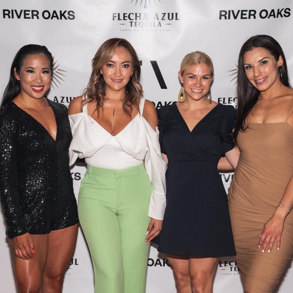Sweat River Oaks opening Abby Liu, Mary Tolentino, Brittany Bradshaw & Vanessa Munoz