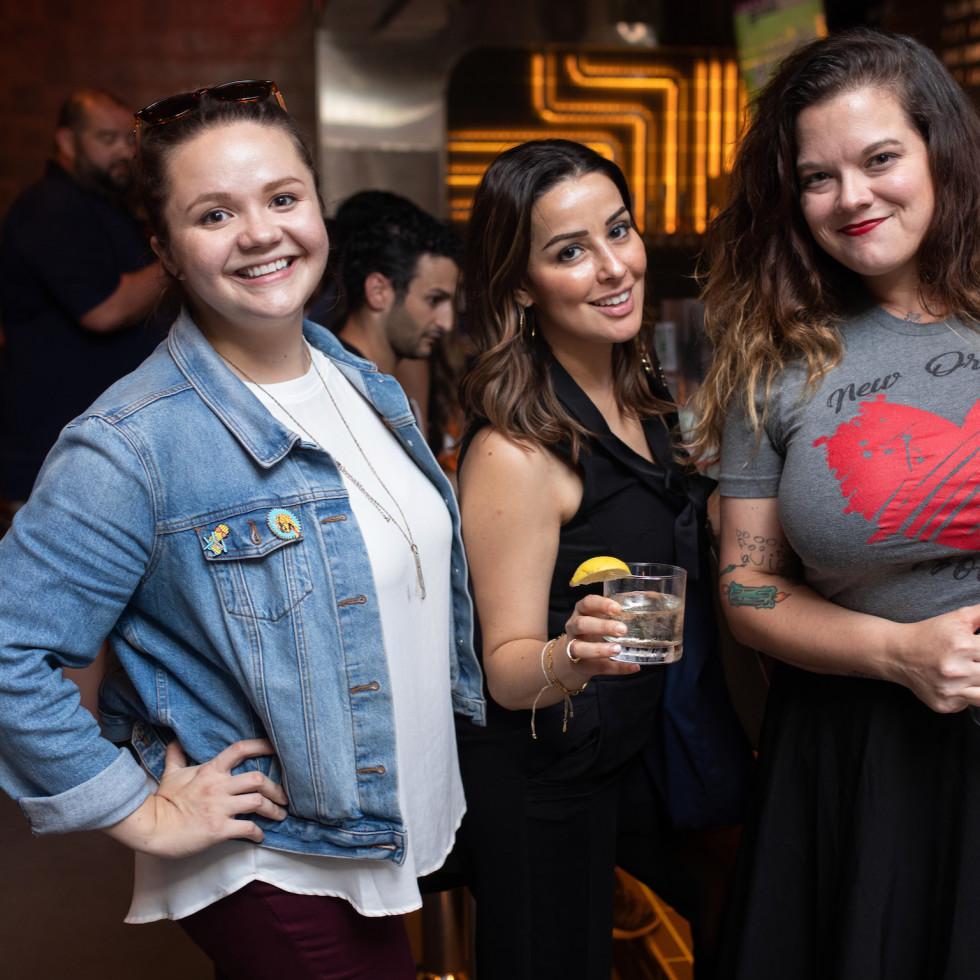 FM Kitchen Montrose opening Mayra Isais, Brianna Amparan, Christa Havican