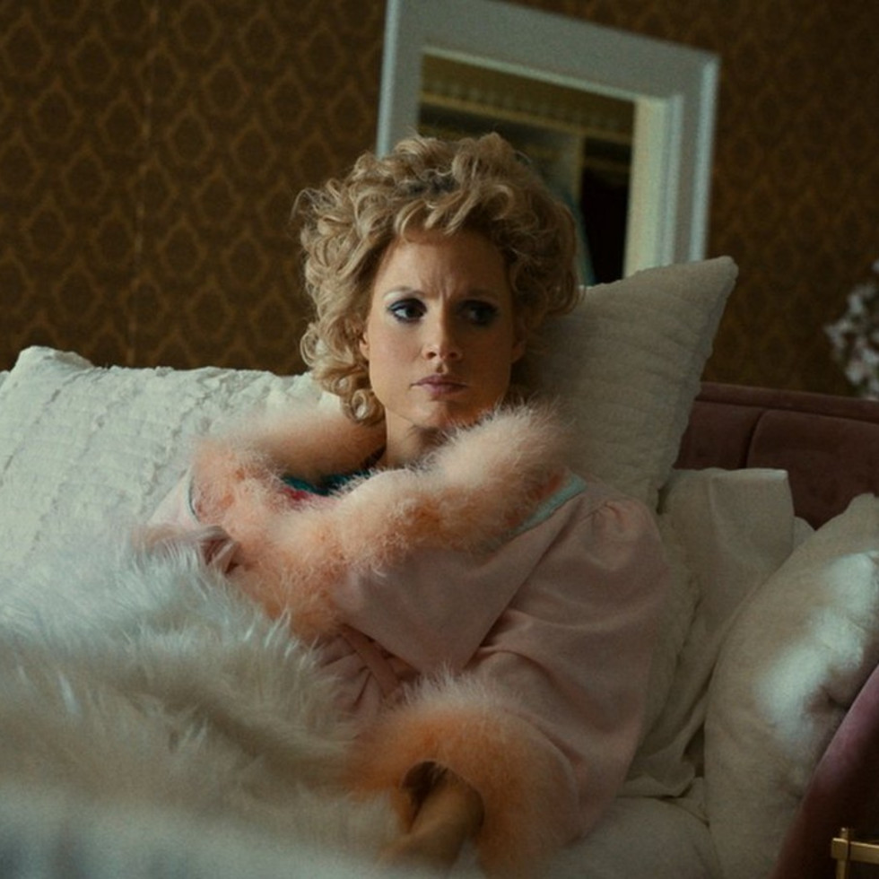 Jessica Chastain in The Eyes of Tammy Faye