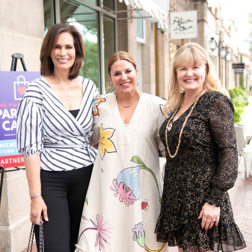 Dr. Carla Russo, Melissa Sherrill, Regina Bruce