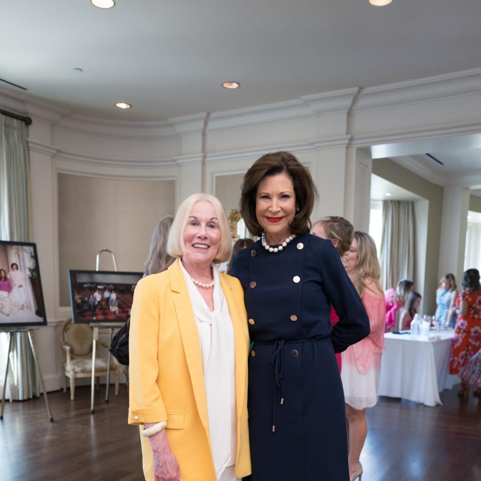 Tickled Pink Luncheon 2021Elsie Eckert and Betty Hrncir