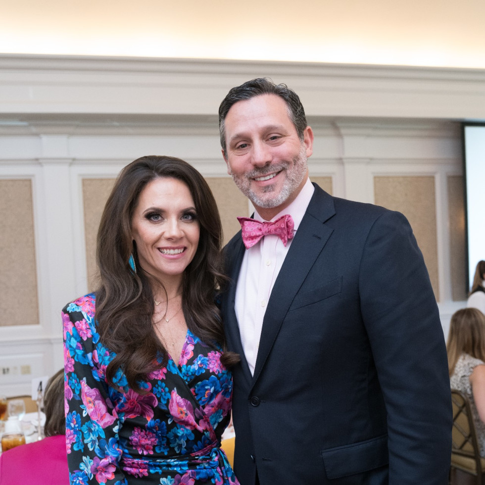 Tickled Pink Luncheon 2021 Joanna Brad Marks