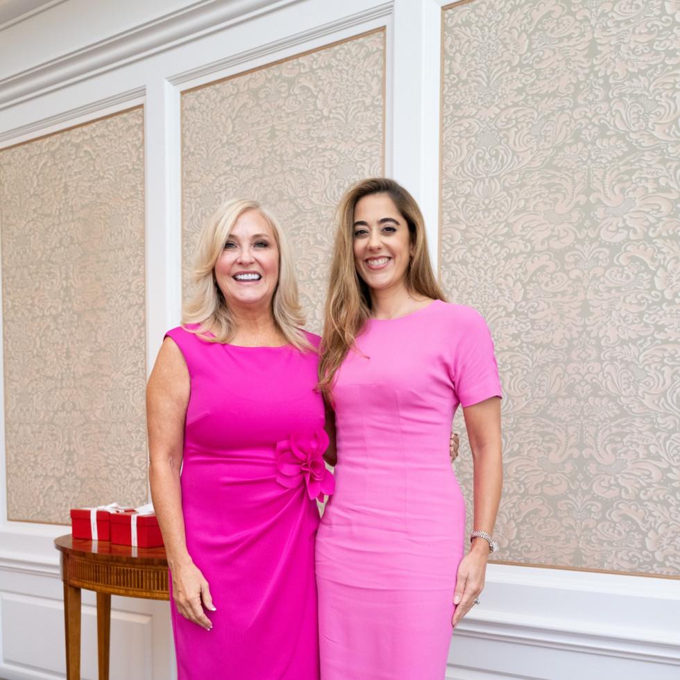Tickled Pink Luncheon 2021 Karen DeGeurin Remington and Kristina Somerville