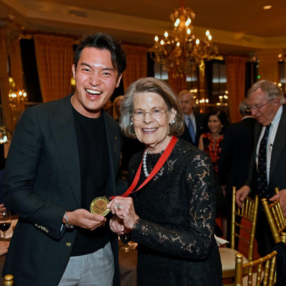 Ray Chen and Teresa King